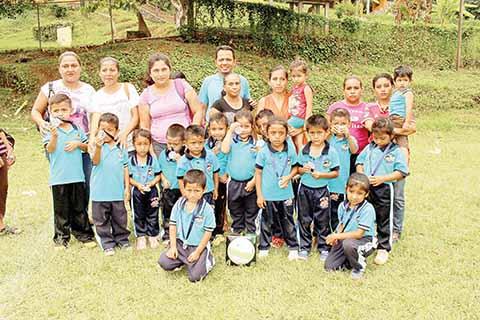 Preescolar de Toluca, Campeón en futbol.