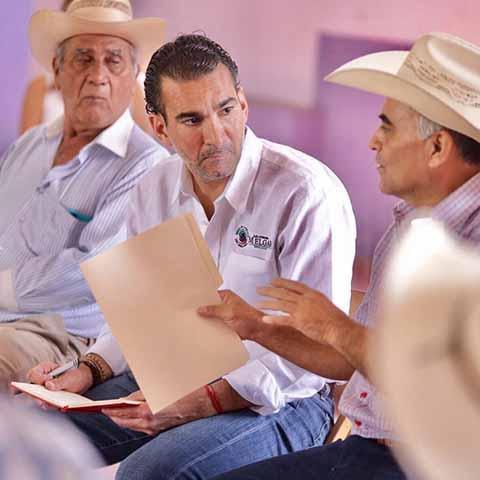 Urge Detonar el Campo Productivo: Sen. Melgar