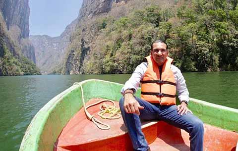 Urge Rescatar de la Basura y Drenaje al Cañón del Sumidero