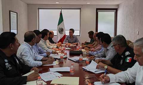 Redoblaremos esfuerzos para alcanzar mayores niveles de seguridad en el estado, indicó el gobernador Manuel Velasco