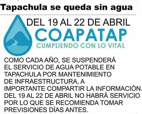 Ayuntamiento Deja sin Agua a la Ciudad; no Tomó las Previsiones Afectando a la Población