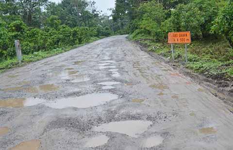 "En Pésimo Estado Tiene la SCT la Carretera ""Ruta del Tacaná"""
