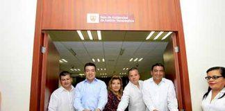 Inaugura Rutilio Escandón Sala de Audiencias en Justicia Terapéutica