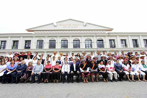 Rutilio Escandón Fomenta Participación de Jueces Indígenas y Municipales