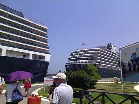 Arribaron tres cruceros durante Semana Santa, con más de siete mil turistas internacionales a bordo; generaron una derrama económica conjunta de 5.7 millones de pesos.