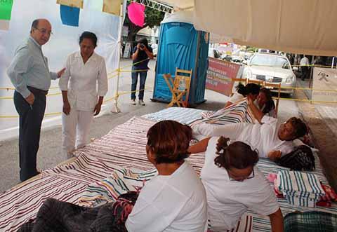 Secretaría de Gobierno Abre Mesa de Diálogo con Enfermeras en Huelga