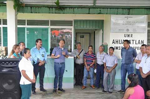 Remodelan y Amplían las Instalaciones del IMSS en Ahuacatlán