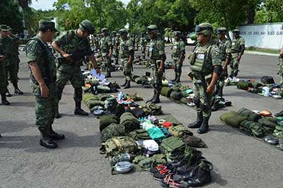 Adiestrarán a Personal de la 36ª Zona Militar