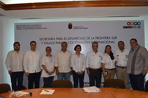 reunión de trabajo con la subsecretaria para América Latina y el Caribe
