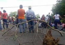 Carretera Costera Estuvo Bloqueada por Varias Horas