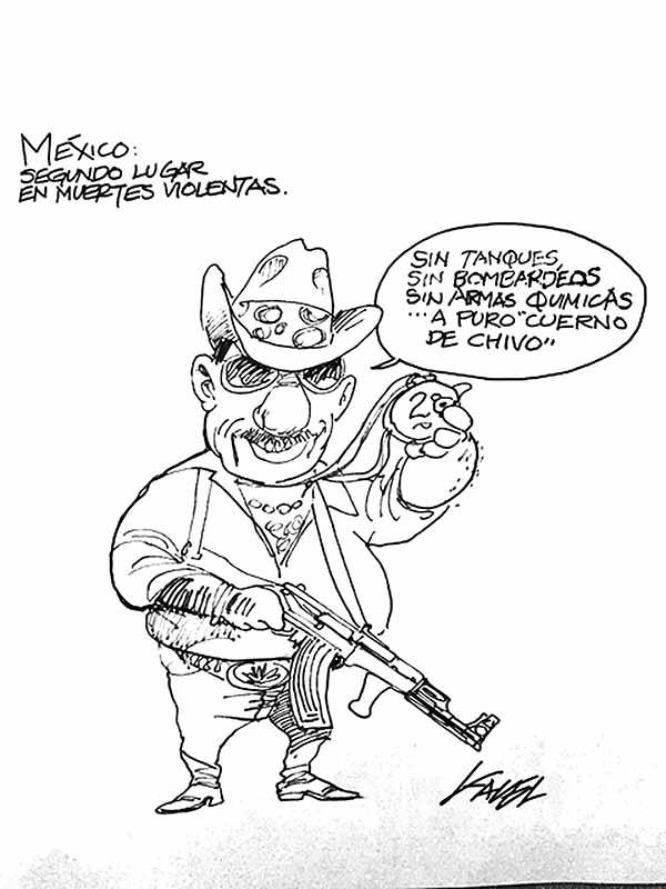 A PURO CUERNO DE CHIVO...