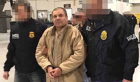 """Juicio Contra """"El Chapo"""" Iniciará el Próximo Año"""