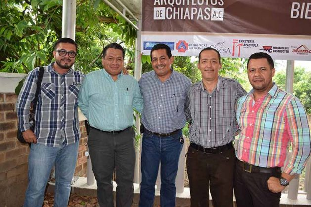 Iván Santos, Julio Avila, Marco Tulio Monzón, Alfredo Monzón, David Anleu.