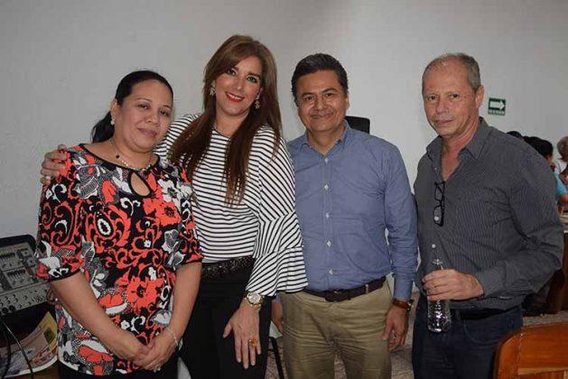 Fanny Lee, Angélica Macotela, Armando Ulloa, Enrique Serra.