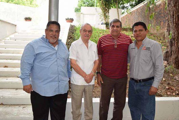 Alfredo Villagrán, José Antonio Toriello, Mario Sánchez, Orlando Méndez.