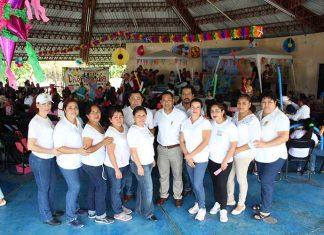 Representantes sindicales de la sección 97 del Hospital Regional de Alta Especialidad Ciudad Salud.