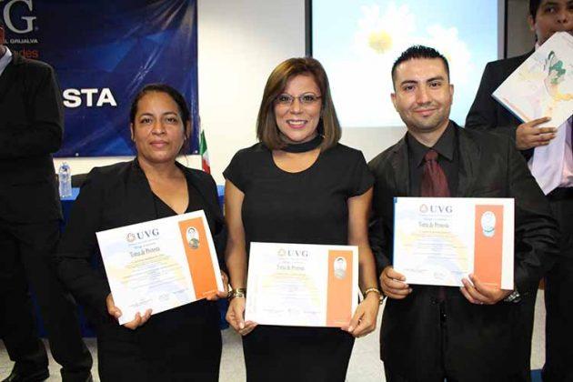 Soledad Marroquín, Erika Lemberg, Juan Velasco.