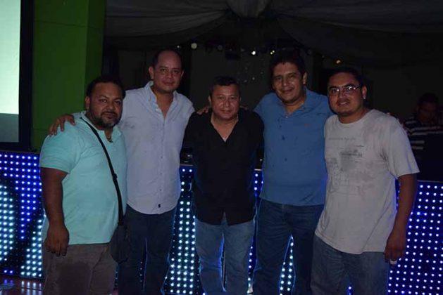 Jorge Díaz, Carlos, Samuel, Fernando de la Rosa.