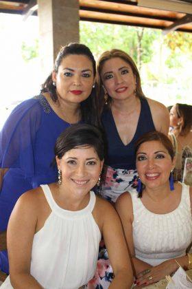 Sheyla Horita, Silvia Almanza, Marycarmen Fernández, Ivonne de Barrios.