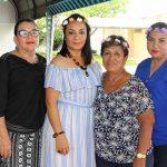 Margarita Tirado, Verónica Cruz, María Bina, Dorena Cigarroa.