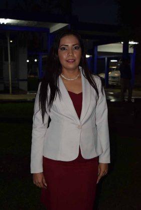 María del Rocío Alvarado.