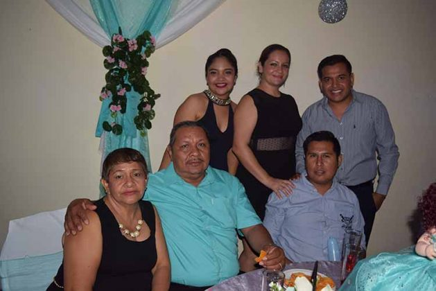 Familia Barrios Gutiérez.