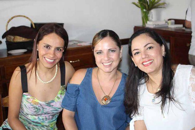 Nery Vargas, Ale Varela, Glendy Zapata.