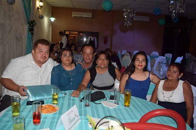 Familia Prado Zúñiga.