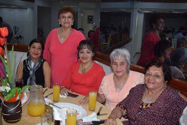 Carina Juárez, Edith Alvarado, Yoice Marroquín, Lilia Javalois, Vilad López.