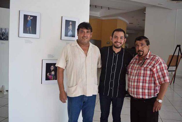 Genaro Espinosa, Jesús Esquinca, Héctor de León.