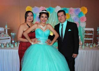 Liliana Grajales, Anette, Adam Gómez.