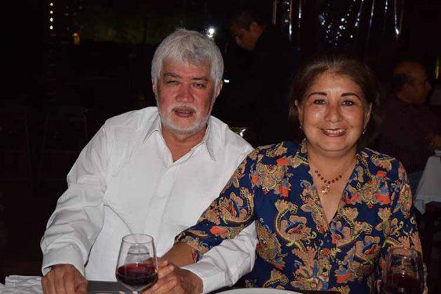 Horacio López, Rosa Marcelin.