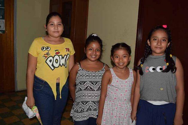Mayra Cabrera, Candelaria Domínguez, Yeimi Morales, Mia Ley.