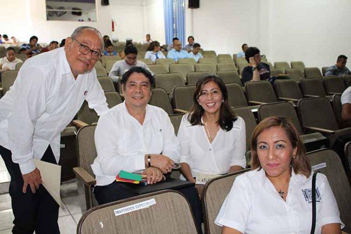 Emilio Esquinca, David Ristori, Carolina Ortega, Josefina Martínez.