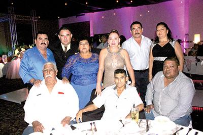 Familia Campos Domínguez.