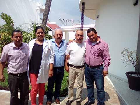 Delegado del ISSSTE Visita Hospital y Guardería