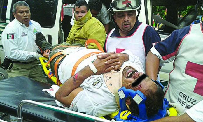 Más de Diez Heridos en Carreterazo