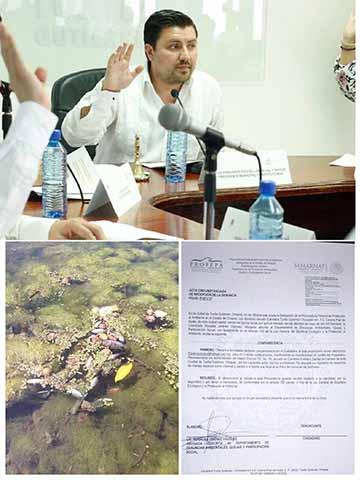 Demanda Ante la PROFEPA Contaminación del Sabinalito