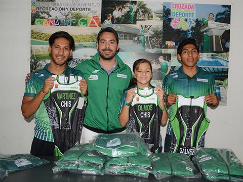 Triatletas Chiapanecos Inician su Participación en la Olimpiada Nacional