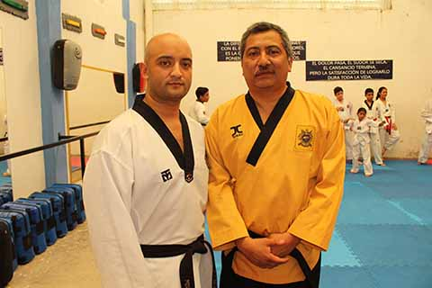 Emilio Domínguez Mendoza, Martín López Roblero.