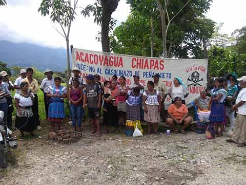 Protestan por los Daños Ecológicos y a la Salud que Ocasionan las Minas