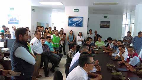 """Tormenta Tropical """"Adrián"""" no Generó Afectaciones en Chiapas"""