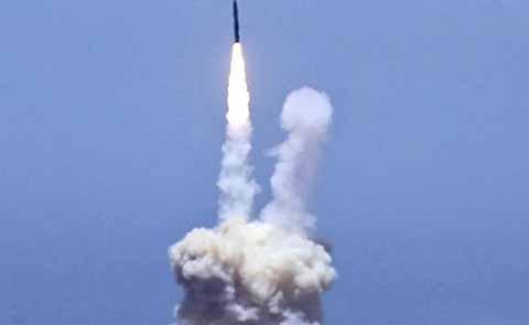 Realiza EU Prueba de Intercepción de Misil Ante Lanzamientos de Norcorea