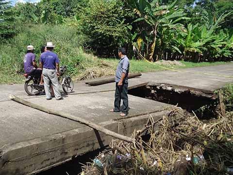 """Autorizan Reconstrucción del Puente """"Los Toros"""""""