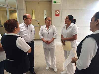 Gobierno del Estado Cumple Compromisos con Trabajadores del Sector Salud