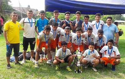 Francocanadiense de Mazatán, Campeón Sub 17