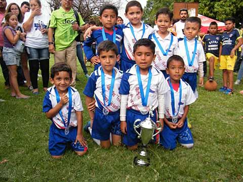 Escuela Futbol Tapachula, Campeón en la Sub 7