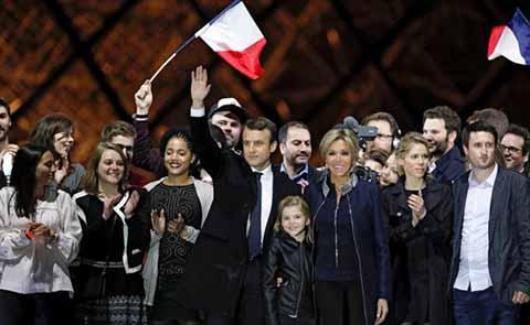 Macron Gana las Elecciones Presidenciales de Francia
