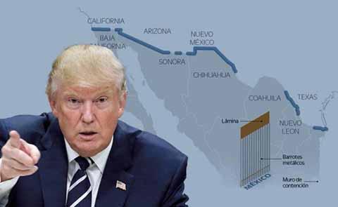 Gobierno de Estados Unidos Elige a Finalistas Para Diseño del Muro