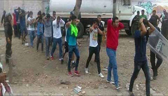 Autoridades ministeriales iniciaron la detención de quienes aprovechando el paro magisterial, cometieron daños a terceros y robos en tiendas de autoservicio en la capital del Estado.